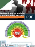 Determinantes Sociales Ambientales