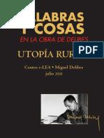 """""""Palabras y cosas en la obra de Delibes"""" (Fundación Joaquín Díaz)"""