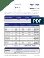 Produktinformationsblatt