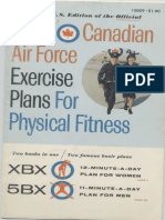 RCAF XBX and 5BX Exercise Plans