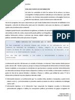 EVALUAR FUENTES DE INFORMACIÓN