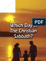 What Day is the Christian Sabbath?
