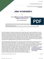 F. Roger Devlin -- Home economics, part I