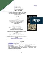 Rudolf Steiner - MACROCOSMOS SI MICROCOSMOS
