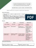 Guía de Actividades Complementarias Clase 1 Tercero Medio Tp