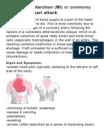 Myocardial infarctio1