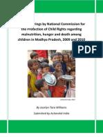 MP Malnutrition NCPCR