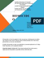 homicidio