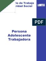 Persona Trabajadora Adolescente