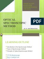 L4 - Optical Spectroscopic Method