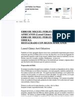 PDF Ebbo de Miguel Febles Con Rezos Africanos Leonel Gamez Awo Osheniwopdf Compress