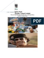 Insanity Colonel Gaddafi