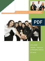 UFCD 5440 Comunicação Interpessoal e Assertividade Índice