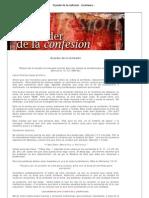 El poder de la confesión - Enseñanza especial