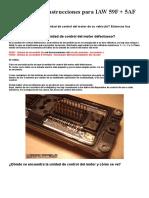 Información e instrucciones para IAW 59F