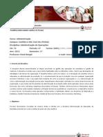 Disciplina - Administração de Operações - 5UDC - Versão 01