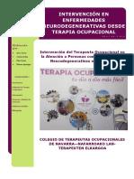 Intervencin de Terapia Ocupacional en Enf Neurodegenerativas