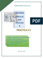 practica #3 simulacion