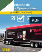 Texaco Checklist Reducao de Custos Operacionais