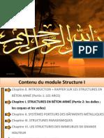 Chapitre I. STRUCTURES en BÉTON ARMÉ (Partie 1 Les Plaques (Planchers) (2)