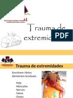 SBV ! Trauma de Extremidades ! Pele, Músculos, Nervos, Vasos, Ossos ! 19 Págs. ! Emergência 1