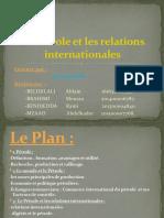 Le Pétrole et les relations internationales