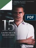 15 Lições de um Milionario - Pedro Cerize