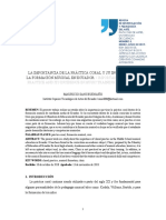 3. La Importancia de La Práctica Coral y Su Incidencia en La Formación Musical en Ecuador