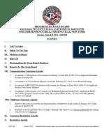Brookhaven Town Board Agenda