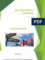 REGIMEN ADUANERO Y CAMBIARIO 1