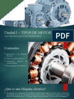 Unidad I – PPT 4 Introduccion a los Motores Electricos