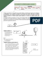 Ficha 6 - IV Bimenstre - Teorema de Trabajo y Energía - 5to Año