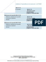 InformationsParcelles