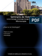 SEMINARIO 1 - MICROSCOPIA - UBA CATEDRA 1