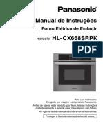 Forno eletrico de embutir HL-CX668SRPK_LL02