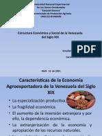 Estructura Economia y Social de La Venezuela Del Siglo XIX