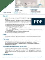 Windows 2012 _ Installation et configuration de Microsoft Windows Server 2012 R2