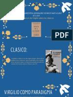 "Proyecciones de la madurez poética, universalismo y destino en ""What's a Classic_ de T.S. Eliot"