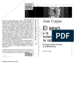 El Sexo y La Eutanasia de La Razon Copjec