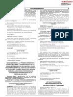 Ley Que Promueve El Empoderamiento de Las Mujeres Rurales - Ley 31168