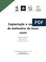 Implantação e manejo de minhocário de baixo custo