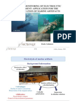 Guilminot E. Electrolytic Treatment in Situ Conserv. Marine Artefacts. 2010