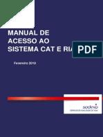 Manual de Acesso Ao Sistema CAT e RIAI (003)