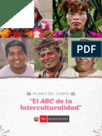 Sílabo Curso ABC de la interculturalidad