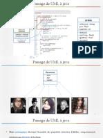 Présentation Passage de UML à Java Salhi