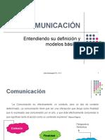 Teoría de la Comunicación - Definición y Modelos Básicos