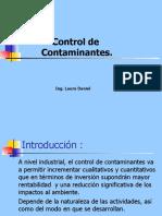 Gestión Ambiental - control de contaminantes