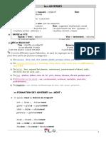 Adverbes en Ment (1)
