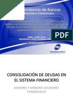 Consolidación de deudas y DE07