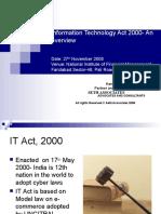 Information-Technology-Act 2000- An overview-sethassociatesppt